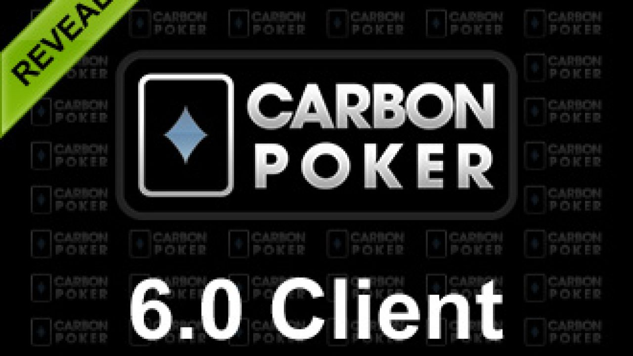 Carbon Poker Client Main Screen