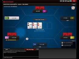 Bovada Poker Client Main Screen